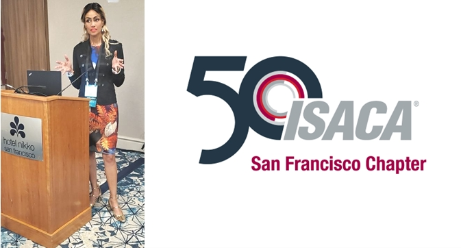 Sophia Bekele Speaks at 2019 SF ISACA Conference Business Ethics Market has no morality